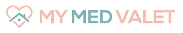My Med Valet Horizontal Mobile Header Logo